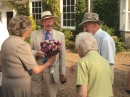 Alan Crook presents a Posy