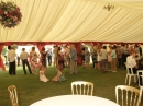 The beautiful marquee