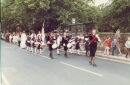 Annual church parade in 1983, commemorating the re-opening of All Saints' after rebuilding on 6 July 1829-2