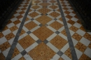 Cathedral floor tiles