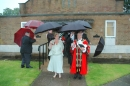 The procession starts from the Church Hall