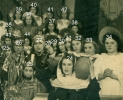 All Saints' Nativity Play 1948 (right section, numbered)