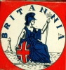 Britannia matchbox with Xylon matches (occasion unknown)