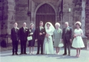 Wedding of Joan Watkins to Brian Bowman, 1962, family shot
