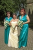 Becky and bridesmaids