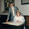 Joanne Slater and Robert Brian Edmondson Sept 24th 1988