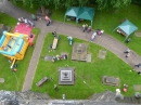 Summer Fayre from the church tower