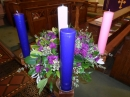 Advent Candle display