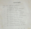 Photo#17 Notice of baptism of Irene Baines nee Smith 1942.