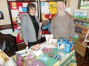 Stephen at the Fair Trade stall in the Narthex