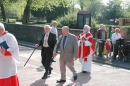 Derrick as Churchwarden, Palm Sunday 2011 (1)
