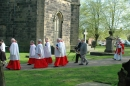 Derrick as Churchwarden, Palm Sunday 2011 (2)