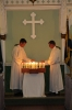 #3 Our altar servers light a candle for each Sedgley soldier who gave their lives in the conflict.