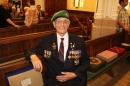 #20 A WW2 serviceman attends the service.