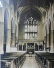 The nave at All Saints'. Undated.