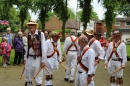 Mike Edwards dances with Sedgley Morris Men.