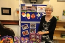 Fair Trade stall at the service.