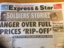 Front Page Express and Star 2 April 2018
