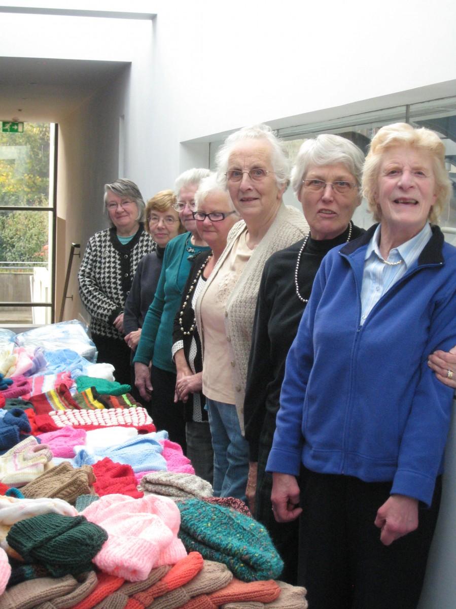 Knitting Groups Edinburgh : Greenbank parish church edinburgh guild work party