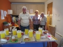 Serving refreshments at Holiday Club 2014