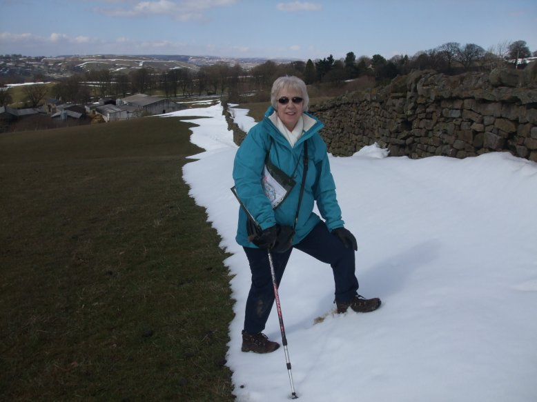 Snow still on the Ground near Ilkley