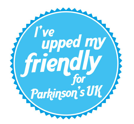 Logo for Parkinson's Awareness Week 2015, slogan, I've unzipped my friendly for Parkinson's UK