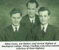 Eifion Evans, Jim Walters and Vernon Higham
