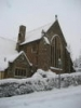 St James in the snow