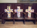 The three Easter crosses