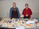 Nina and Eve on the Bookstall