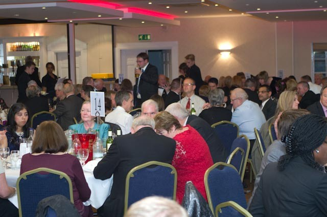The community gather to give thanks - Awards 2014