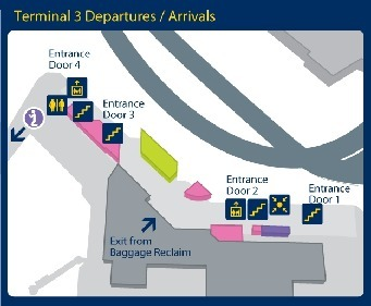 Manchester Airport Terminal 3 Live Flight Arrivals