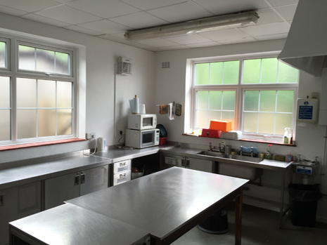 St Mark's Community Hall kitchen
