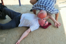 Don't worry- just emergency first aid training!