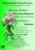 April 2015 - Brahms 'A German Requiem'