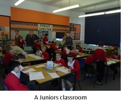 Juniors classroom