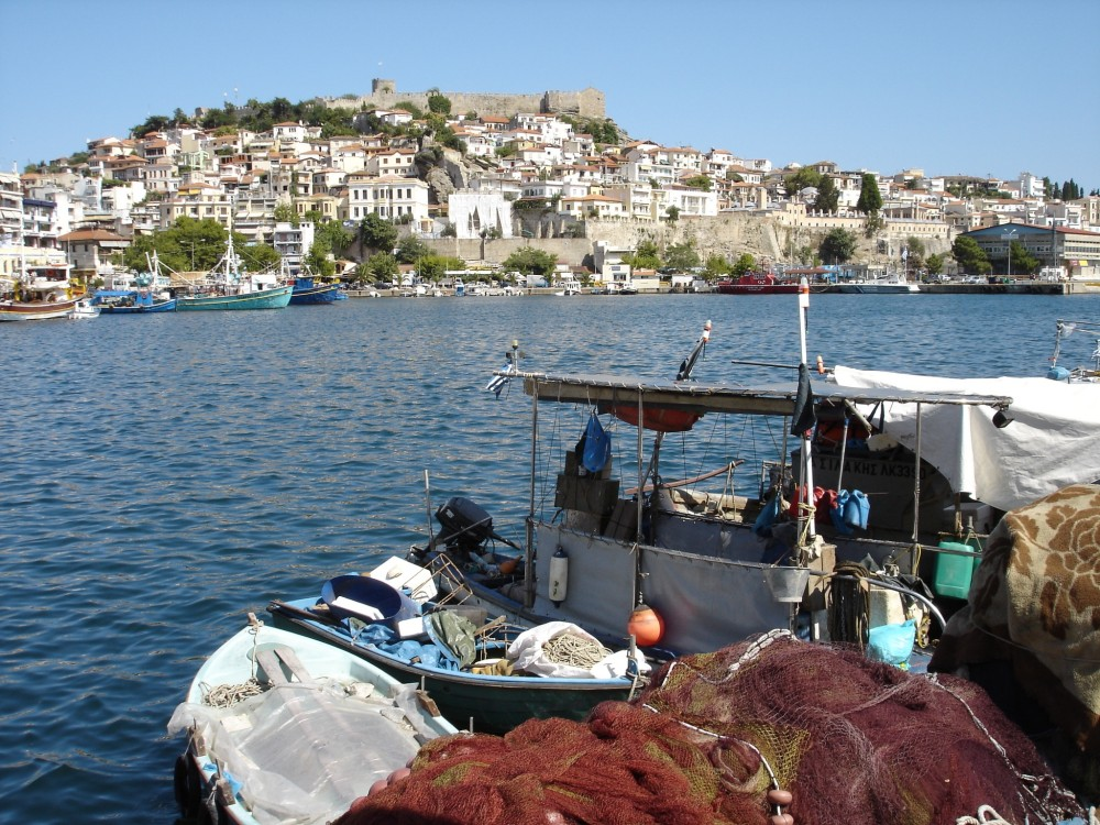 Harbour at Kavala (Neapolis)