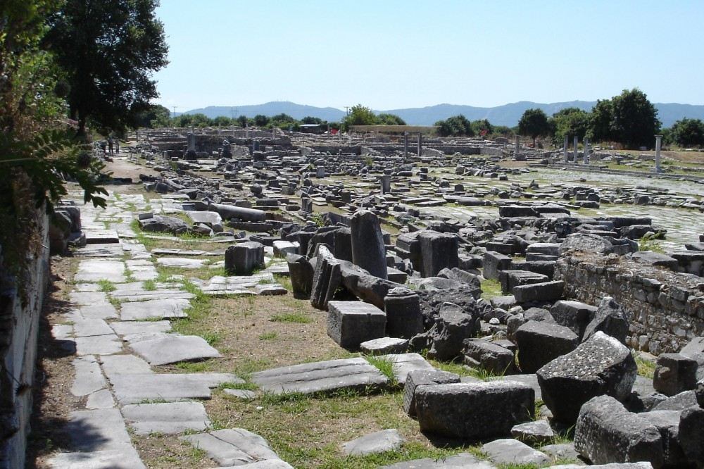 The Via Egnatia at Philippi