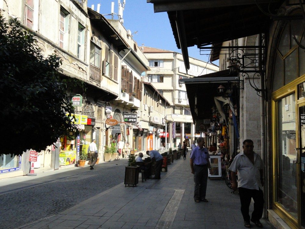Pedastrianised shopping street in Antioch