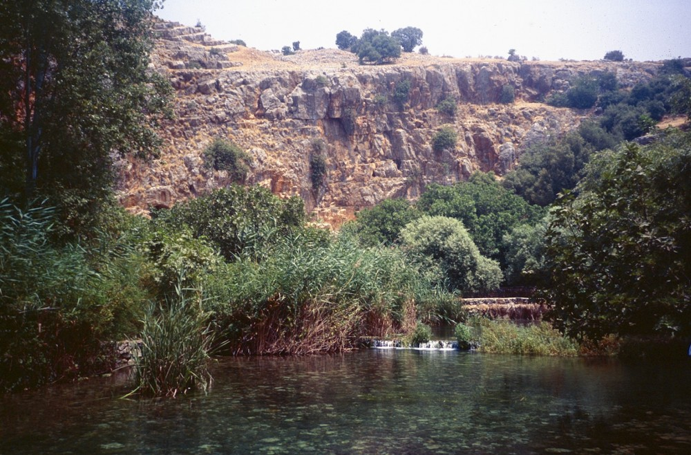 River Jordan at Banias