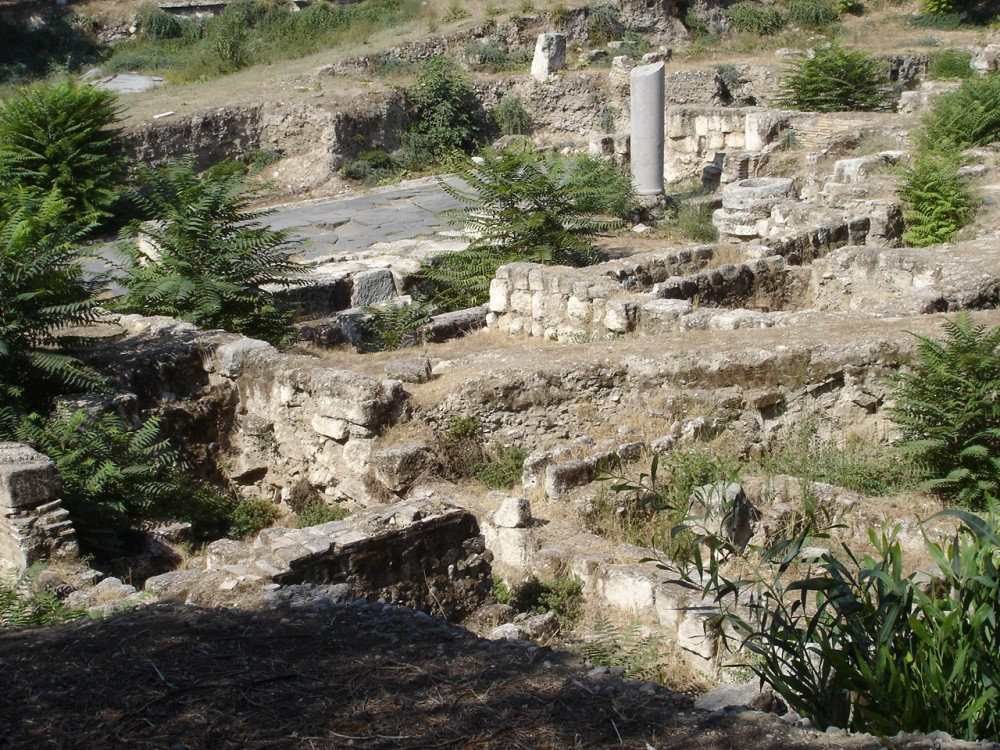 Roman remains in Tarsus