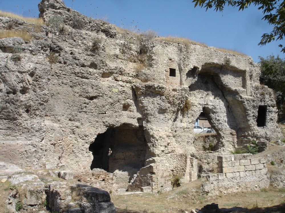 Roman baths in Tarsus