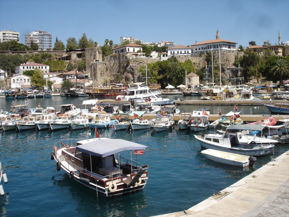 Harbour at Antalya (Attalia)
