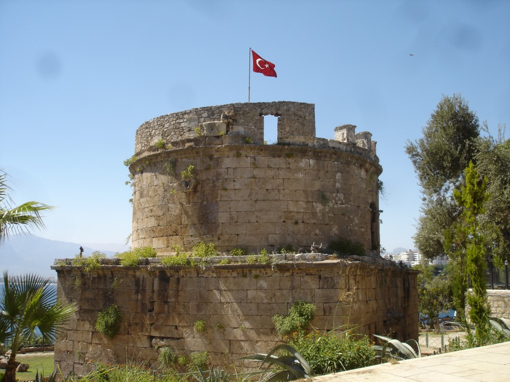 Hidirlic Tower (Roman lighthouse), Antalya (Attalia)