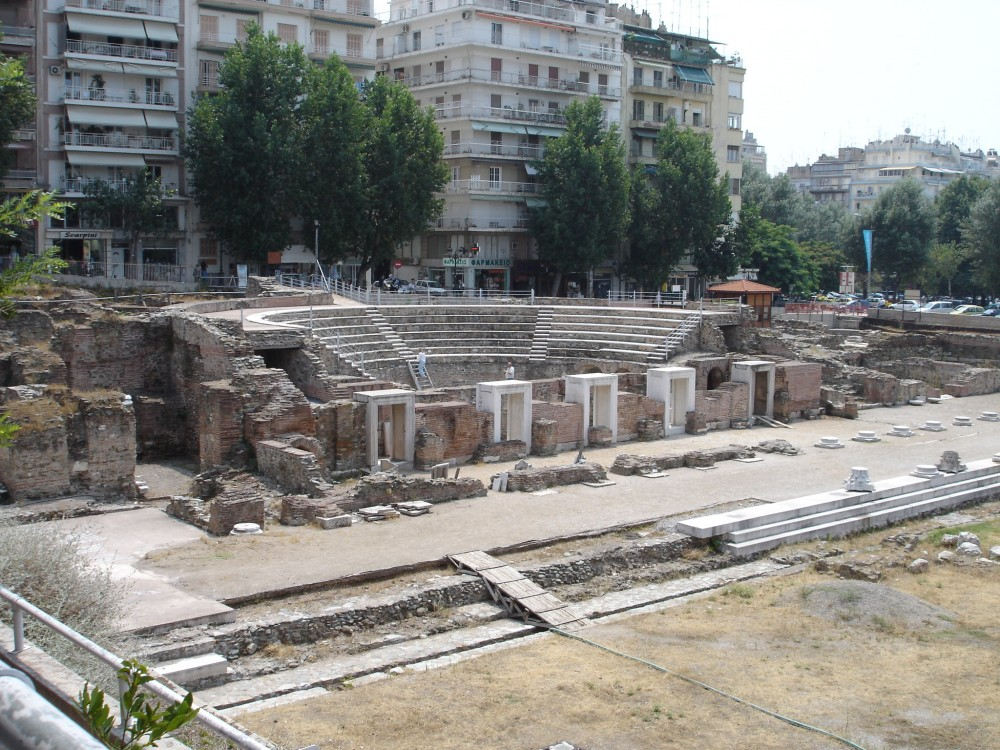 The Roman Odeion in Thessalonica