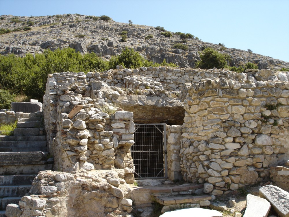 Paul's prison at Philippi