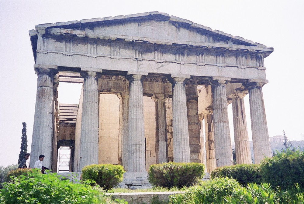 Temple of Hyphaestus in Athens