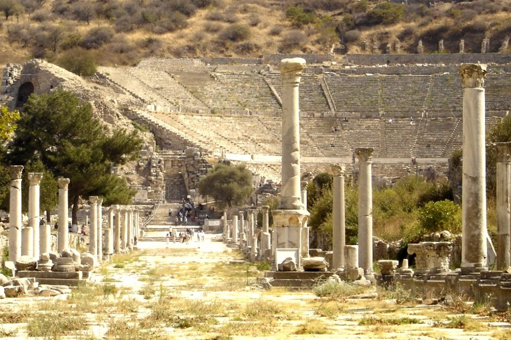 Roman theatre at Ephesus