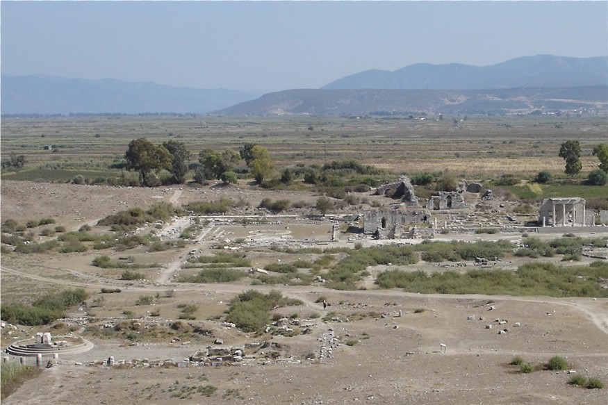 Roman harbour at Miletus