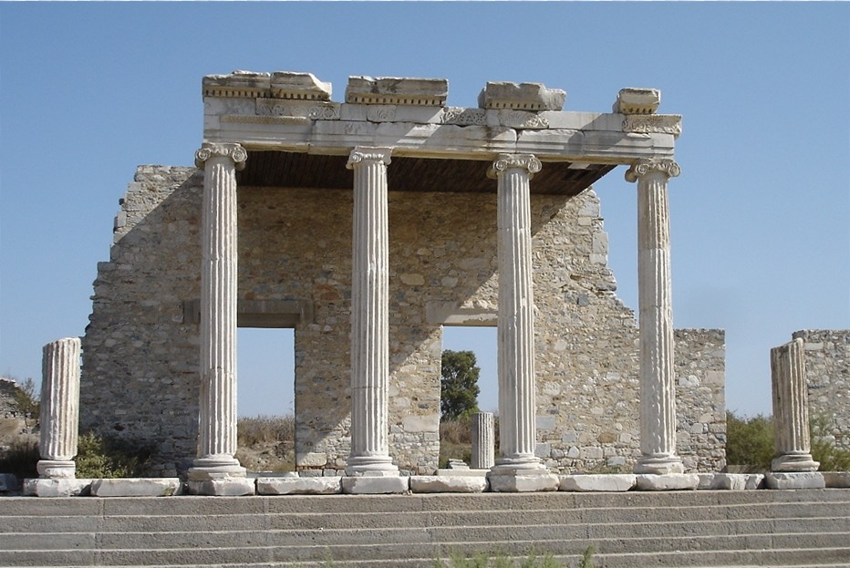 The Baths of Faustina at Miletus